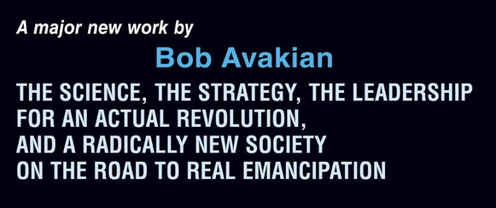 A MAJOR NEW WORK BY BOB AVAKIAN