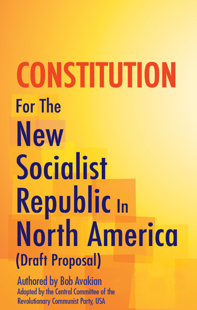 Constitution for the New Socialist Republic in North America book cover