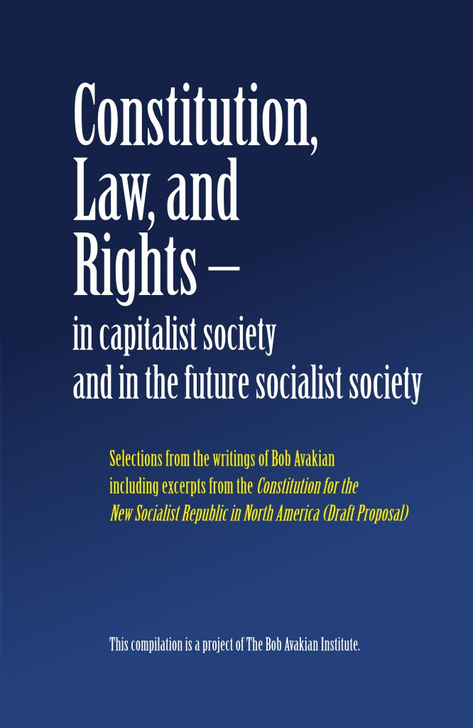 Constitution, Law, and Rights