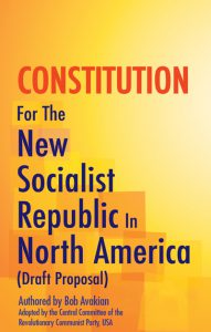 Constitution For The New Socialist Republic In North America (Draft Proposal)